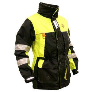 Arrak, veste originale noir/jaune